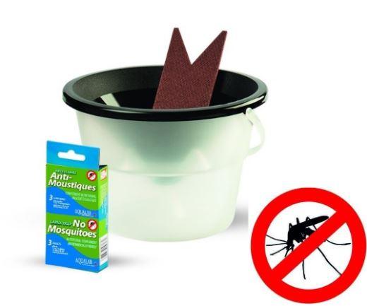 Piège anti larves de moustiques