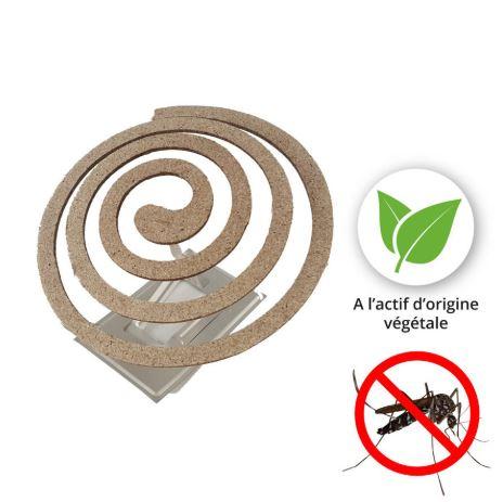 Serpentin anti moustique naturel