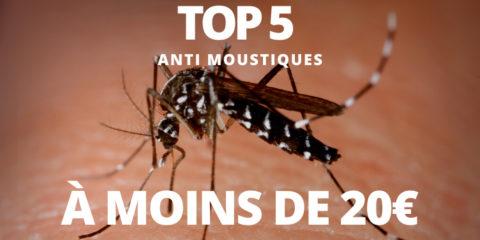 Top 5 des produits anti moustiques pour moins de 20€