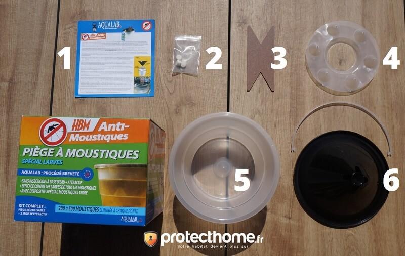 piège anti larves de moustique aqualab
