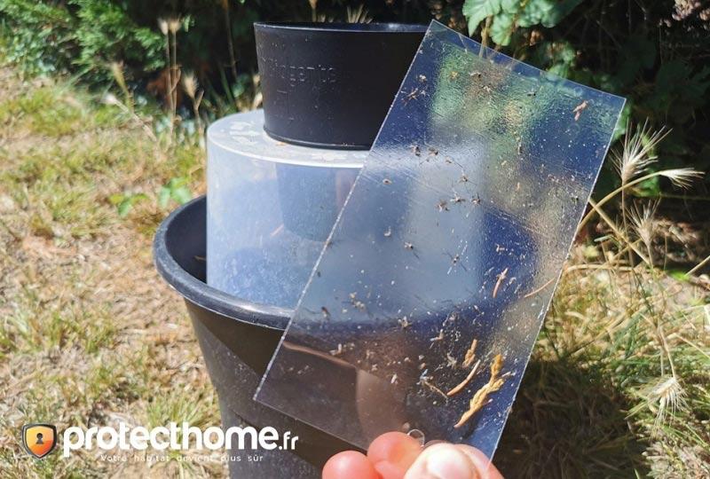 Piege moustique anti larve de moustique test