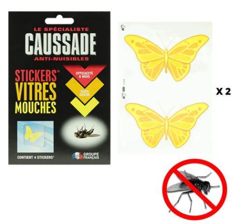 Stickers tue mouche pour vitre