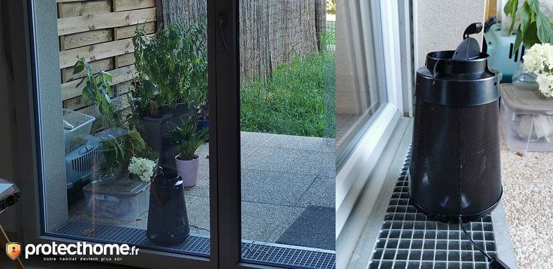 Position piège moustique pour interieur biogents bg home