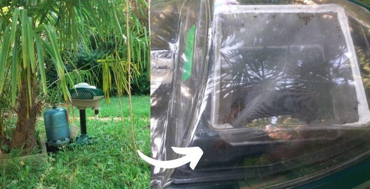 Piège moustique tigre efficace mosquito magnet test