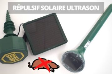 chasser taupe sans les tuer repulsif solaire