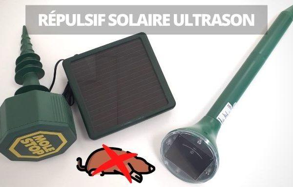 chasser taupe sans les tuer repulsif solaire